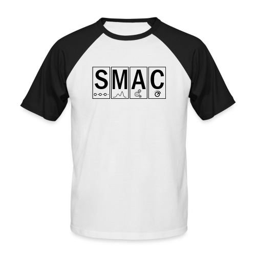 SMAC3_large - Men's Baseball T-Shirt