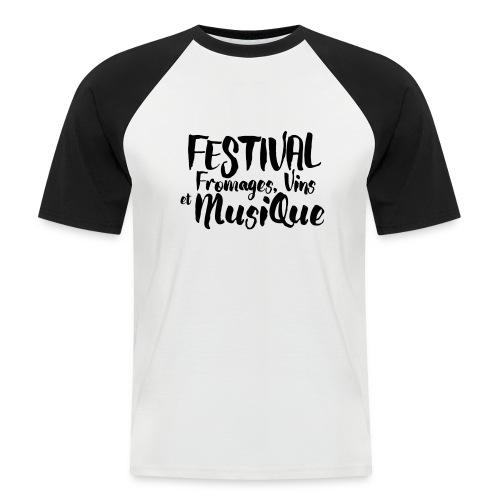 Festival FVM - T-shirt baseball manches courtes Homme
