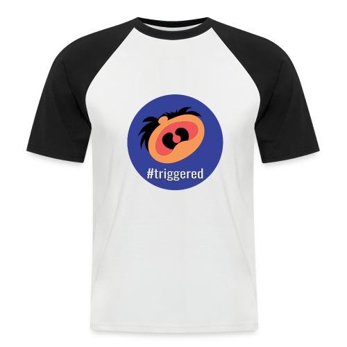 Triggered - Men's Baseball T-Shirt