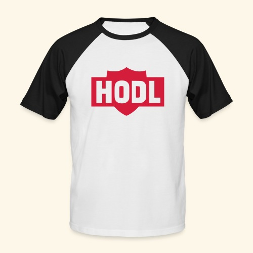 HODL TO THE MOON - Miesten lyhythihainen baseballpaita