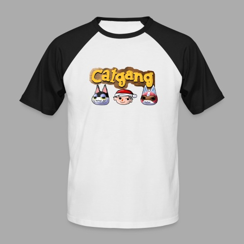 Animal Crossing CatGang - Männer Baseball-T-Shirt