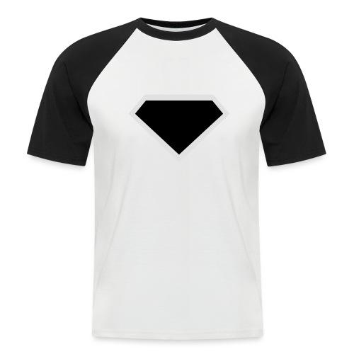 Diamond Black - Two colors customizable - Mannen baseballshirt korte mouw