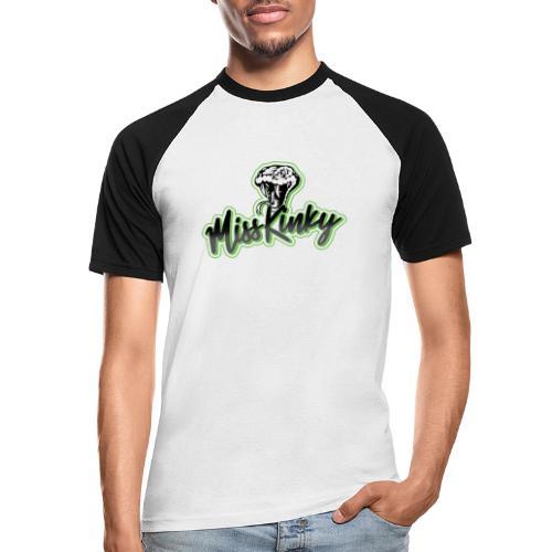 Logo Miss Kinky vert - T-shirt baseball manches courtes Homme