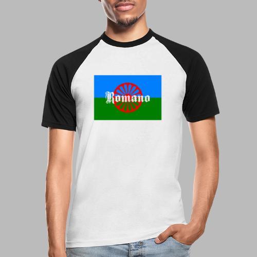 Flag of the Romanilenny people svg - Kortärmad basebolltröja herr