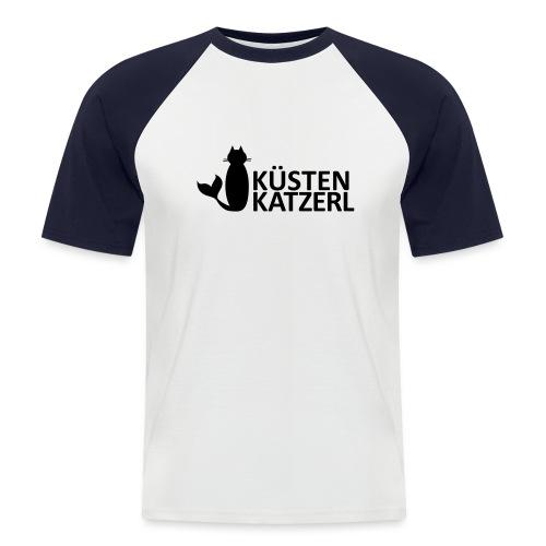 Küstenkatzerl - Männer Baseball-T-Shirt