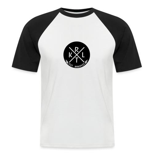KRTL Original Brand - Mannen baseballshirt korte mouw