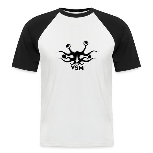Kerk van het Vliegend Spaghettimonster - Mannen baseballshirt korte mouw