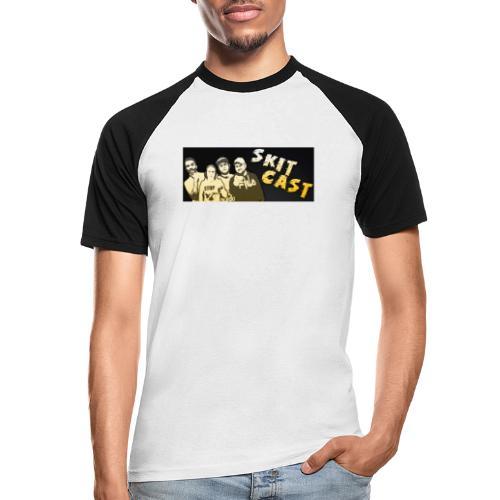 Banner - Kortermet baseball skjorte for menn