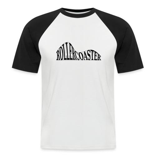 envelope_coaster - Kortærmet herre-baseballshirt
