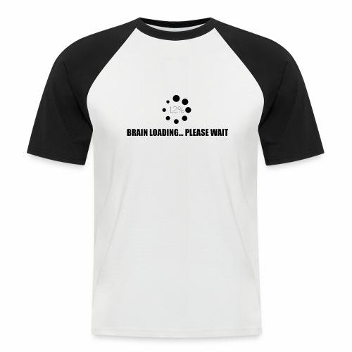 brain - T-shirt baseball manches courtes Homme