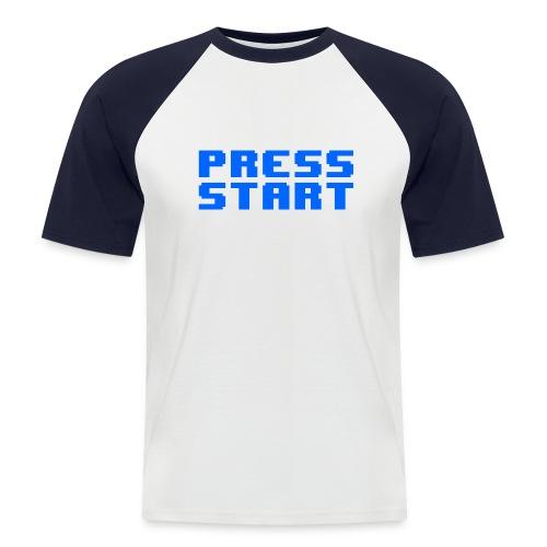Press Start - Maglia da baseball a manica corta da uomo
