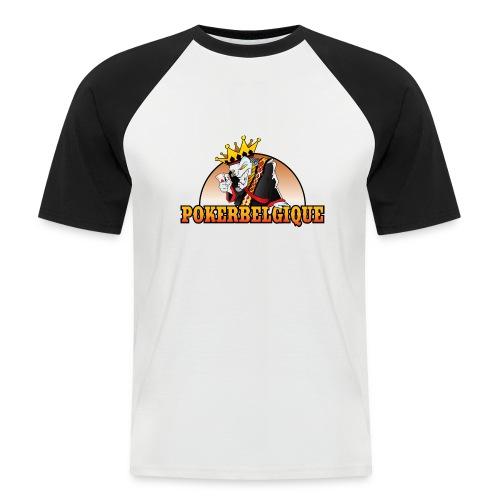 Logo Poker Belgique - T-shirt baseball manches courtes Homme