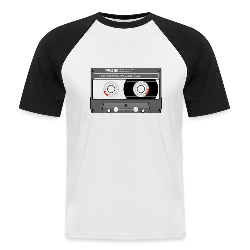 Cassette SONY UX Pro black - Men's Baseball T-Shirt