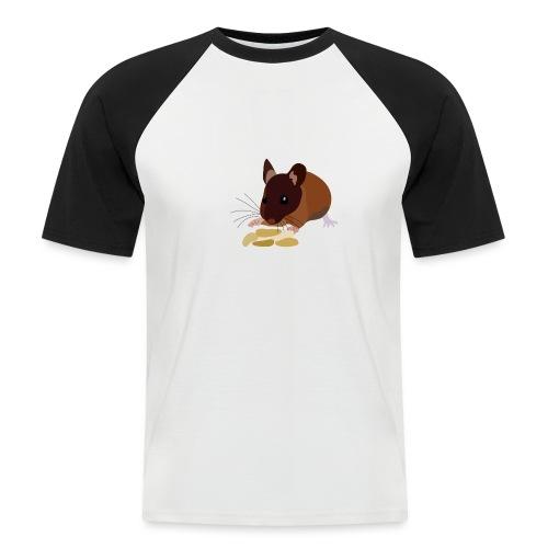 Maus - Männer Baseball-T-Shirt