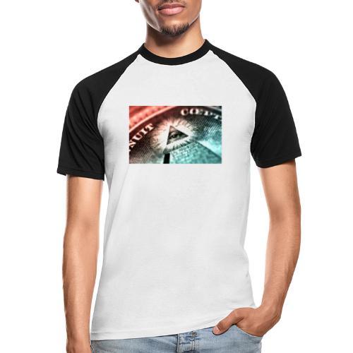 nwo - Camiseta béisbol manga corta hombre