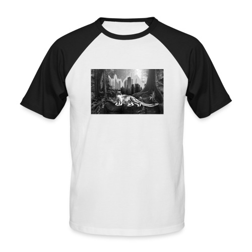 Fossa & Jungle - Men's Baseball T-Shirt