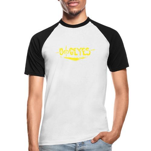 Dogeyes Logo - Men's Baseball T-Shirt