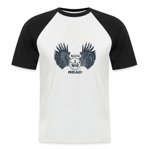 WINGS King of the road dark - Mannen baseballshirt korte mouw