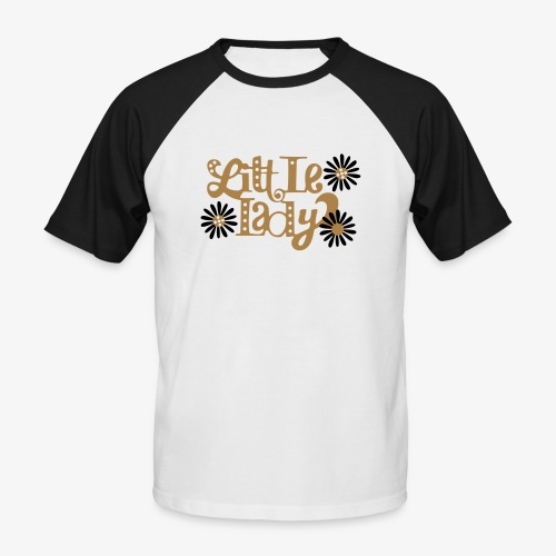 large_little-lady - T-shirt baseball manches courtes Homme