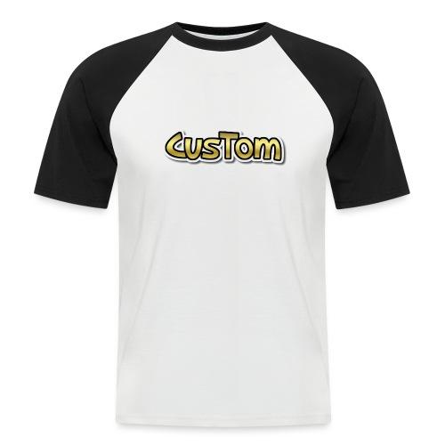 CusTom GOLD LIMETED EDITION - Mannen baseballshirt korte mouw