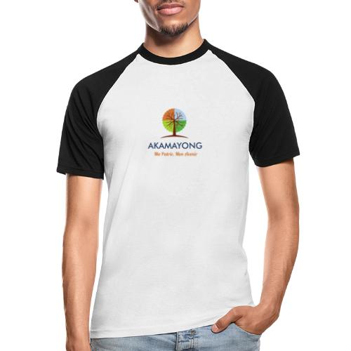 akamayong - T-shirt baseball manches courtes Homme