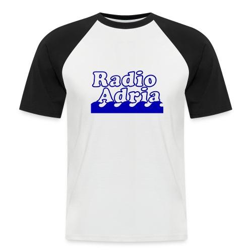 RadioAdria Logo - Männer Baseball-T-Shirt