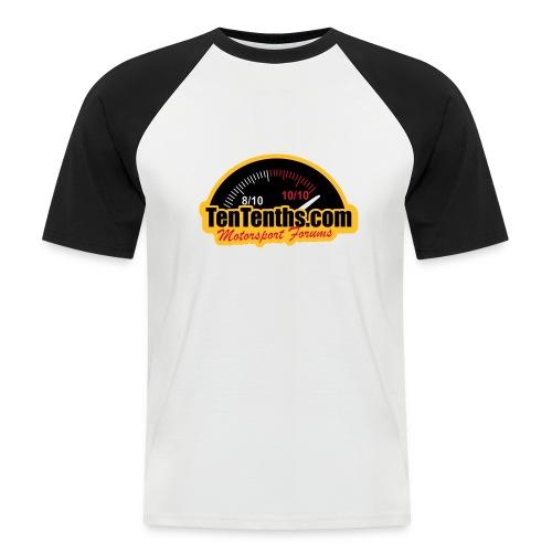 3Colour_Logo - Men's Baseball T-Shirt