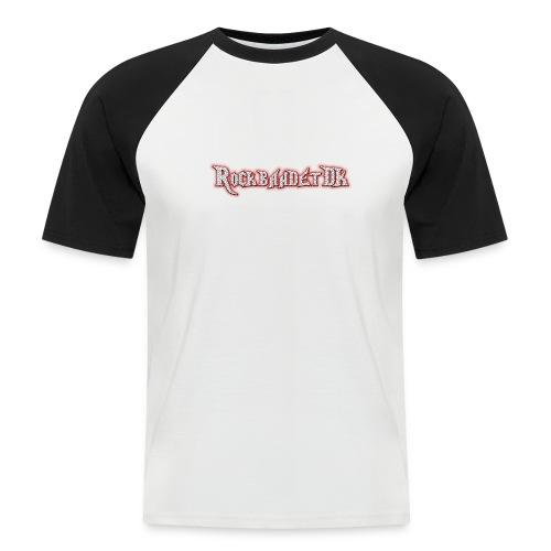 Rockbandet.DK - Kortærmet herre-baseballshirt