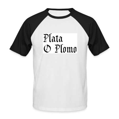 Plata o plomo - T-shirt baseball manches courtes Homme