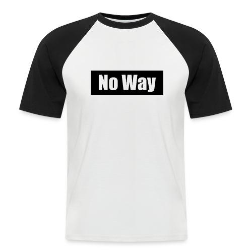T-Shirt Skateboard - T-shirt baseball manches courtes Homme