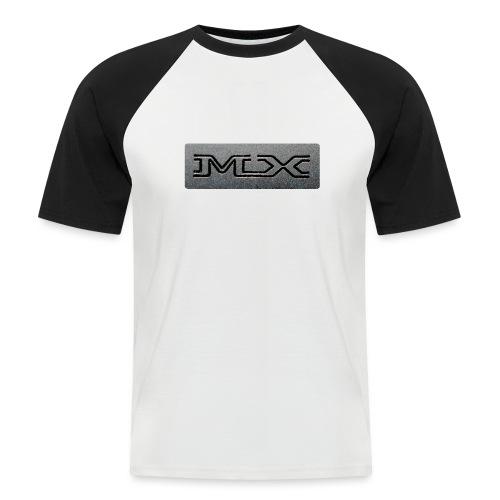 MX - Maglia da baseball a manica corta da uomo