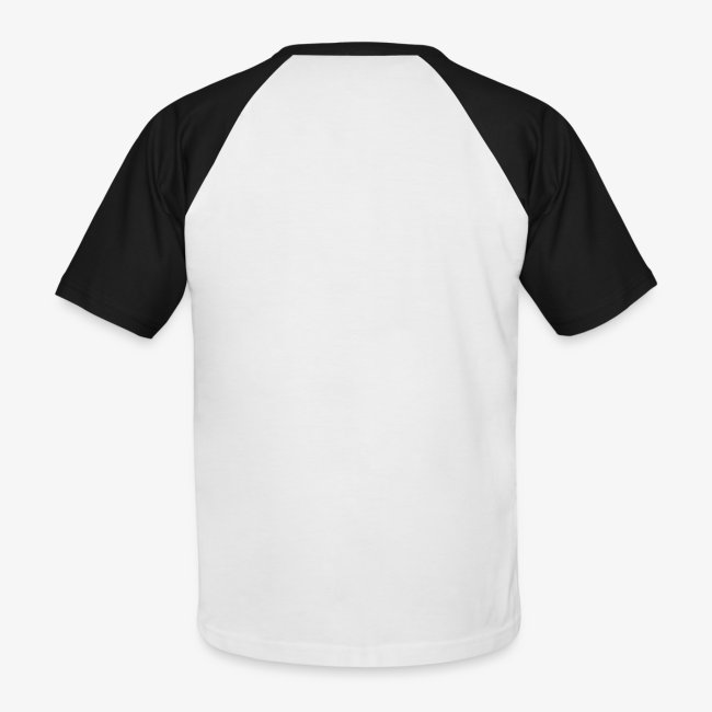 simple man pferd - Männer Baseball-T-Shirt