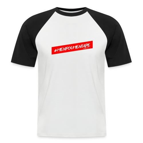 MENFOUMENTAPE Hashtag by Alice Kara - T-shirt baseball manches courtes Homme