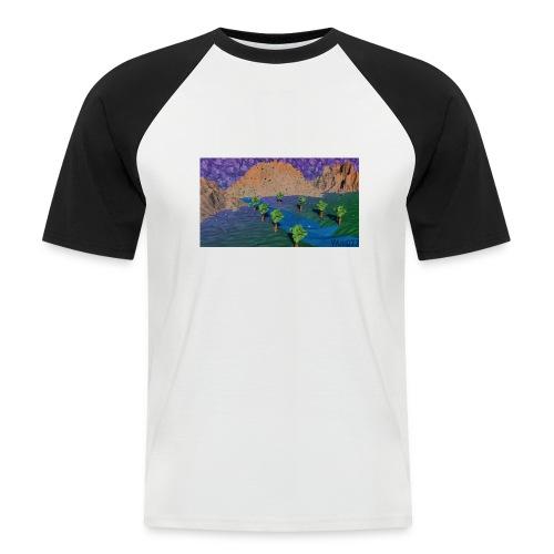 Silent river - Men's Baseball T-Shirt