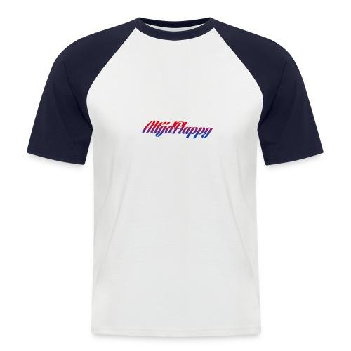 T-shirt AltijdFlappy - Mannen baseballshirt korte mouw