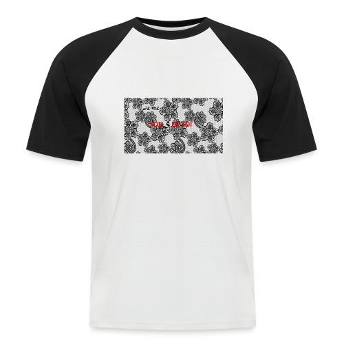 JE ME FOUS DE TOI 3 edite - T-shirt baseball manches courtes Homme