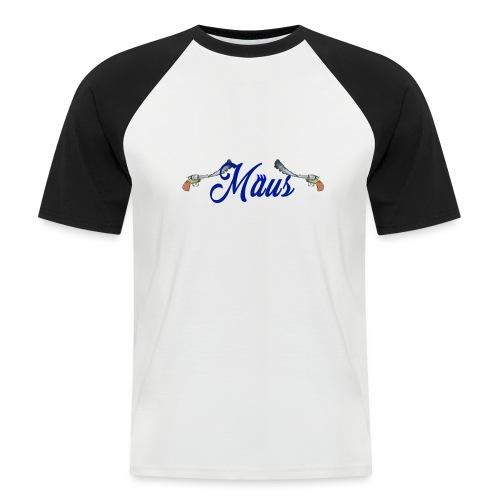 Waterpistol Sweater by MAUS - Mannen baseballshirt korte mouw