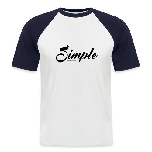 Simple: Clothing Design - Men's Baseball T-Shirt