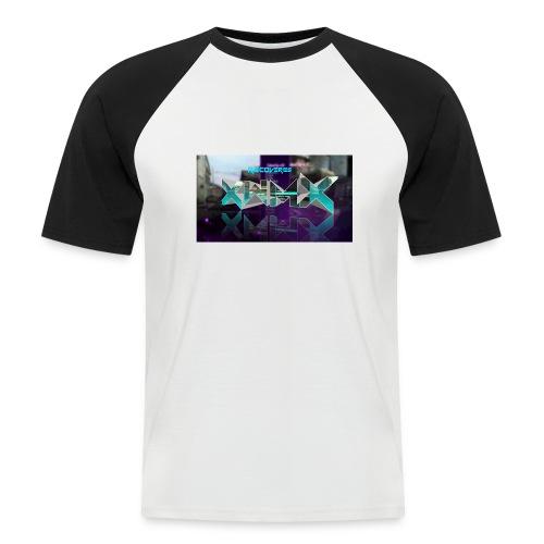 XZWhModzZX - Kortærmet herre-baseballshirt
