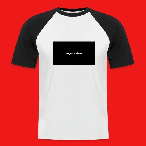 New - Kortærmet herre-baseballshirt