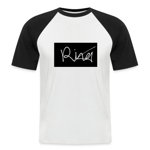 Autogramm - Männer Baseball-T-Shirt