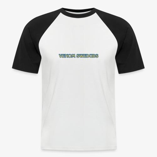 VenomSwedubs - Logga Capcom - Kortärmad basebolltröja herr