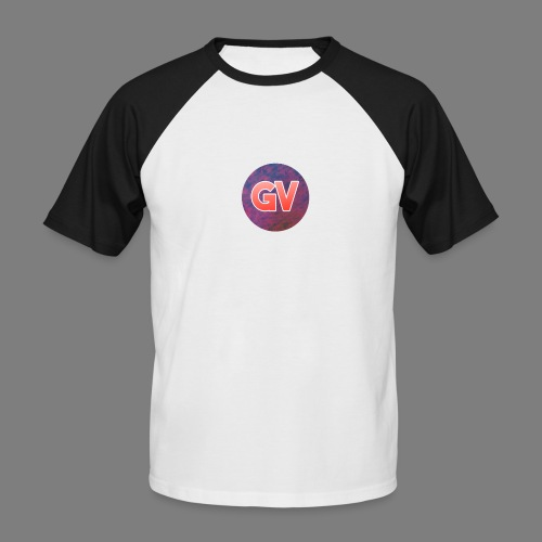 GV 2.0 - Mannen baseballshirt korte mouw