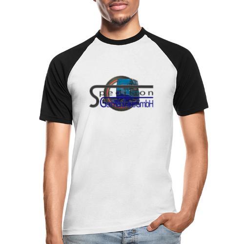 Firmenlogo der Spedition GermanTrans GmbH - Männer Baseball-T-Shirt