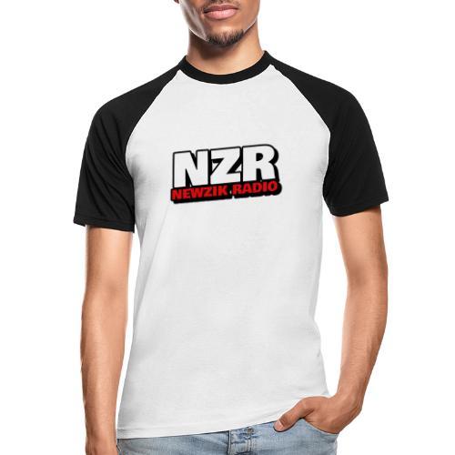 NZR - T-shirt baseball manches courtes Homme