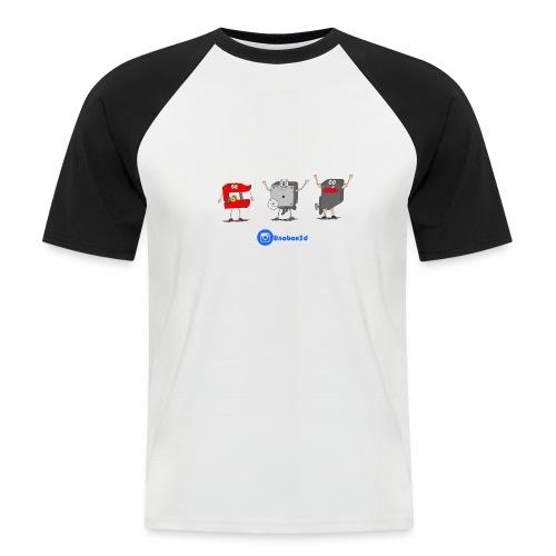 3D Extruders - Camiseta béisbol manga corta hombre