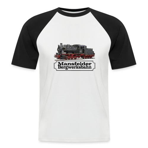 mansfelder bergwerksbahn dampflok 1 - Männer Baseball-T-Shirt