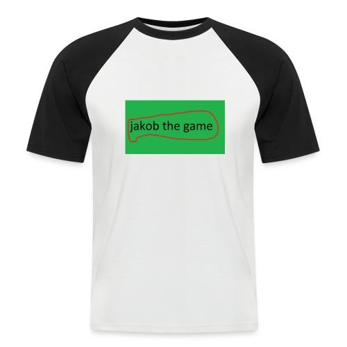 jakob the game - Kortærmet herre-baseballshirt