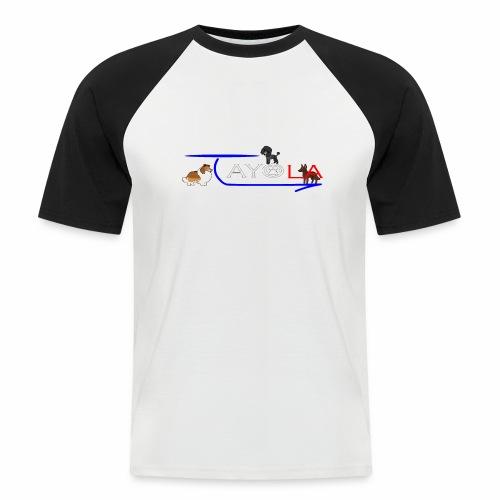 Tayola White - T-shirt baseball manches courtes Homme