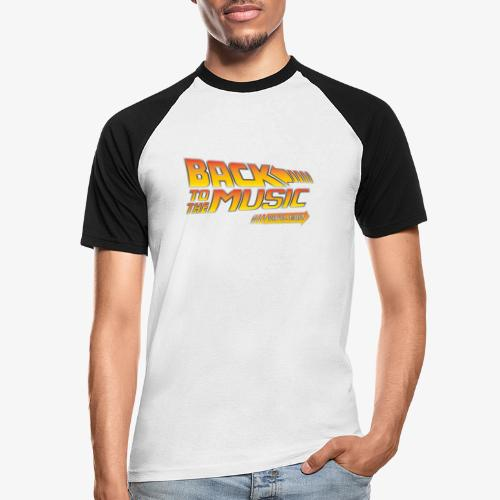 Back to the music Vinyl Edit - T-shirt baseball manches courtes Homme